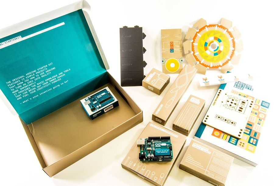 Reviewed the official arduino starter kit