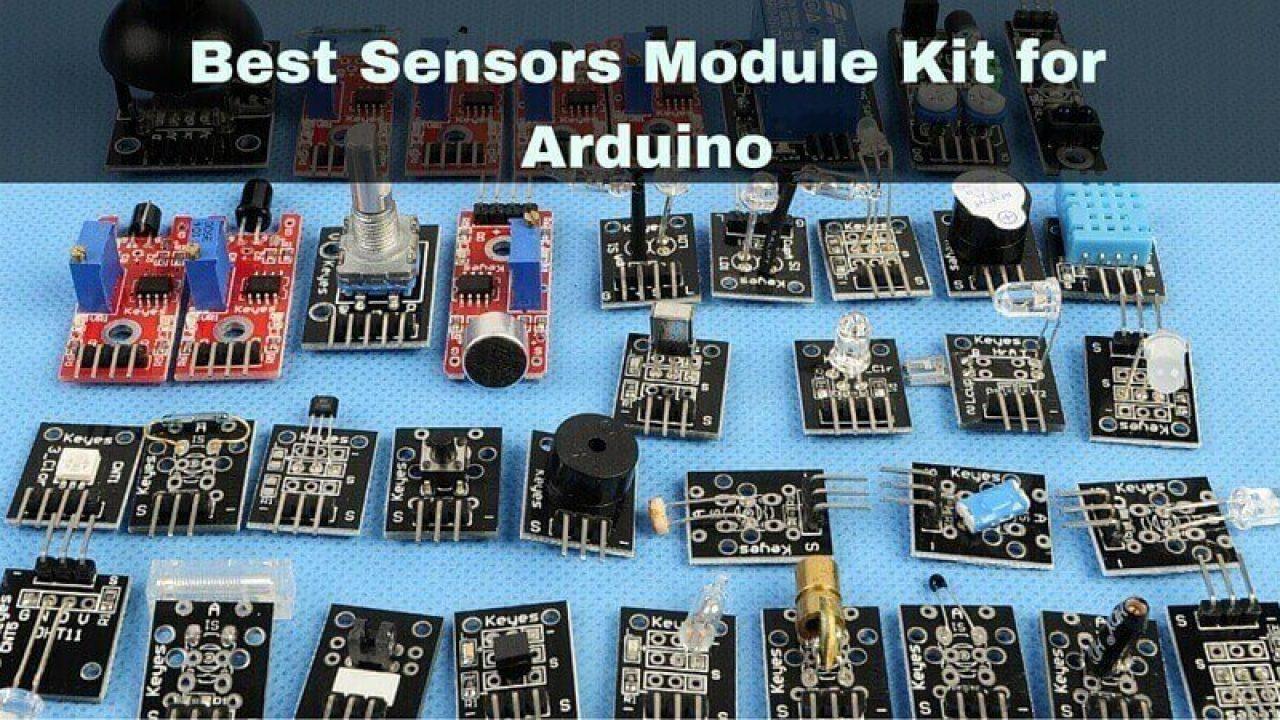 Best Sensors Module Kit for Arduino - Arduino Starter Kits