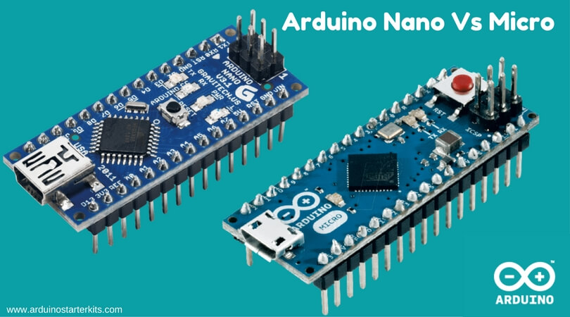 Arduino nano vs micro top comparison starter kits