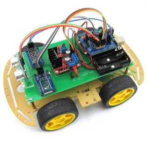 Bluetooth controlled toy car